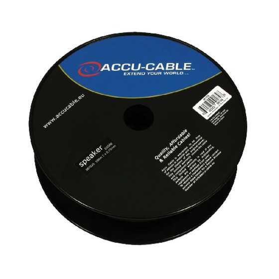 Accu Cable AC-SC2-0,75/100R - Speaker cable 2x0,75mm, 100m