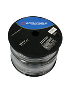 Accu Cable AC-SC2-2,5/100R-B - Speaker cable 2x2,5mm, 100m schwarz