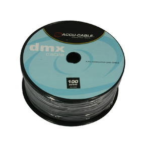 Accu Cable AC-DMX3/100R - DMX cable on Roll 3 cond/110 Ohm/100m