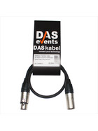 DASkabel - Sommer Cable SC-Stage 22 Profi XLR Mikrofon Audio Kabel 0,5m (Neutrik)
