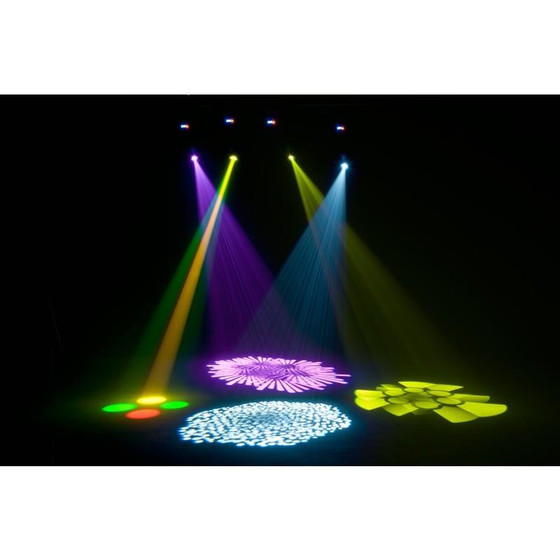 American DJ ADJ Focus Spot two 75Watt + 3Watt UV LED Movinghead