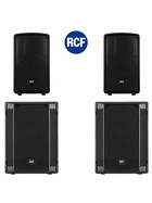 Bundle 2x RCF SUB 702-AS II Bass + 2x HD-10-A MKIV 4400 W