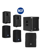 Bundle RCF SUB 702-AS II Bass + 2x ART 310-A MK4 3000 W + Taschen