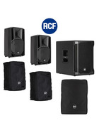Bundle RCF SUB 702-AS II Bass + 2x ART 710-A MK4 4200 W + Taschen