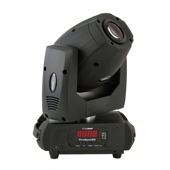 Involight PROSpot50 V.2 Moving Head Spot 50W LED Motor-Fokus Prisma